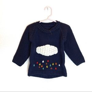 Toddler Kids Cloud Sweater - NAVY